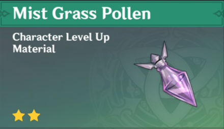 How to Get Mist Grass Pollen and Effects
