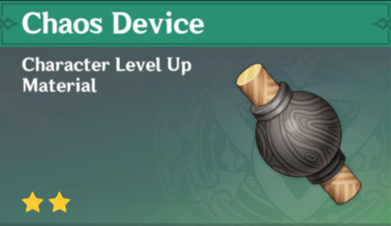 How to Get Chaos Device and Effects