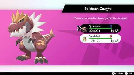 Pokemon - Crown Tundra - Keep one Pokemon per Adventure.jpg