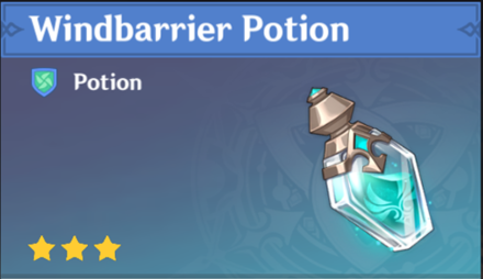 How to Get Windbarrier Potion and Effects