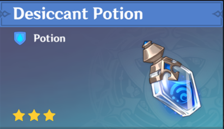 How to Get Desiccant Potion and Effects