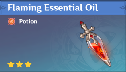 How to Get Flaming Essential Oil and Effects