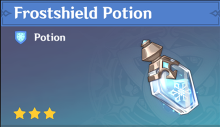 How to Get Frostshield Potion and Effects