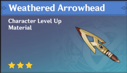 How to Get Weathered Arrowhead and Effects