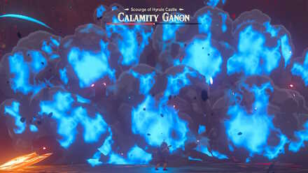 Calamity Ganon attacked by Divine Beasts.jpg