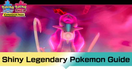 Crown Tundra - Legenday Pokemon Shiny Hunting Guide