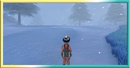 Crown Tundra - Snowslide Slope Map and Pokemon