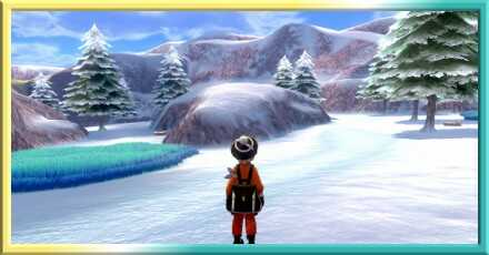 Crown Tundra - Frostpoint Field Map and Pokemon