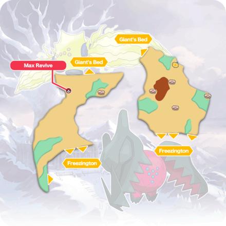 Crown Tundra - Frostpoint Field Item Map