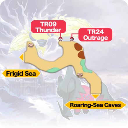 Crown Tundra - Three-Point Pass Item Map