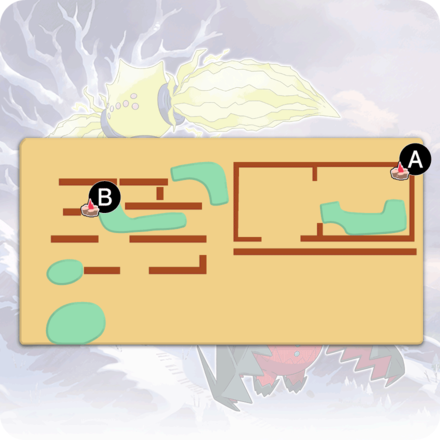 Crown Tundra - Old Cemetery Pokemon Den Map