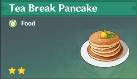 How to Get Tea Break Pancake and Effects