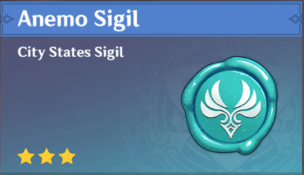 How to Get Anemo Sigil and Effects