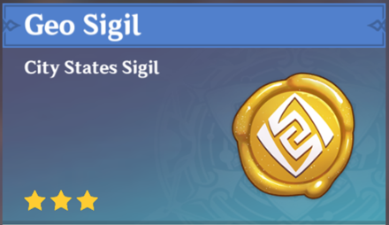 How to Get Geo Sigil and Effects