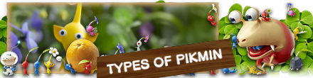 Types of Pikmin