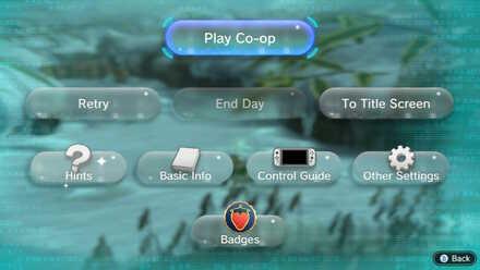 Multiplayer Select Screen