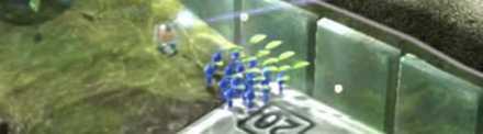Blue Pikmin Underwater