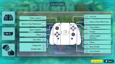 Switch Controls with 2 Joy-Cons