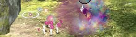 White Pikmin Poision Attack
