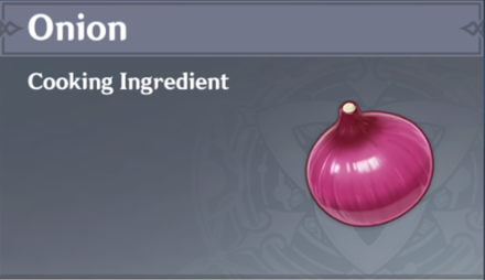 How to Get Onion and Effects