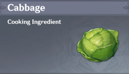 How to Get Cabbage and Effects