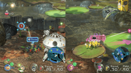 Multiplayer Pikmin 3