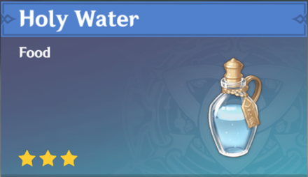 How to Get Holy Water and Effects