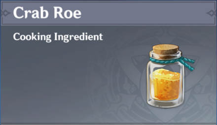 How to Get Crab Roe and Effects