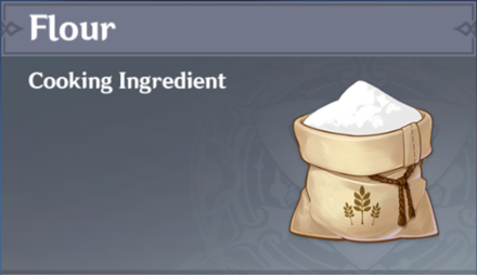 How to Get Flour and Effects