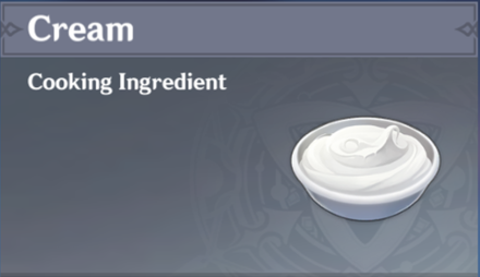 How to Get Cream and Effects