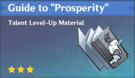 """How to Get Guide to """"Prosperity"""" and Effects"""