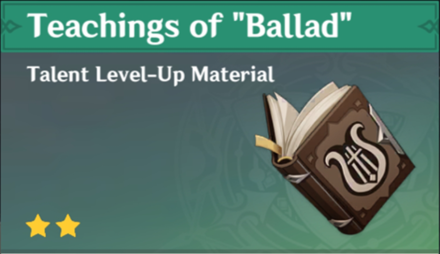 "How to Get Teachings of ""Ballad"" and Effects"