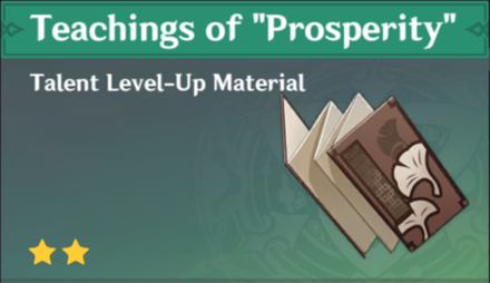 "How to Get Teachings of ""Prosperity"" and Effects"