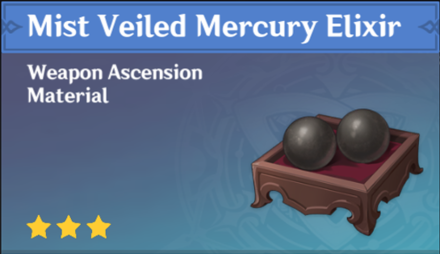 How to Get Mist Veiled Mercury Elixir and Effects