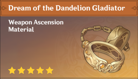 How to Get Dream of the Dandelion Gladiator and Effects