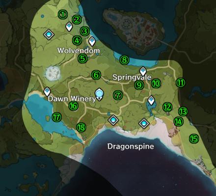 Genshin Impact - Mondstadt - Windwail Highland Map.png