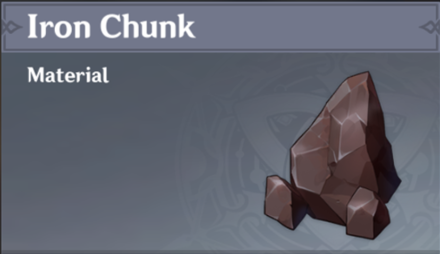 How to Get Iron Chunk and Effects