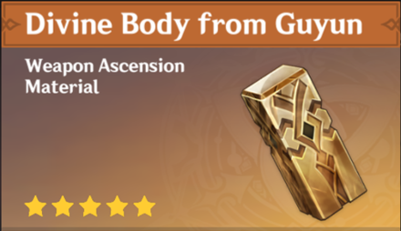 How to Get Divine Body from Guyun and Effects