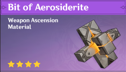 How to Get Bit of Aerosiderite and Effects