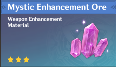 How to Get Mystic Enhancement Ore and Effects