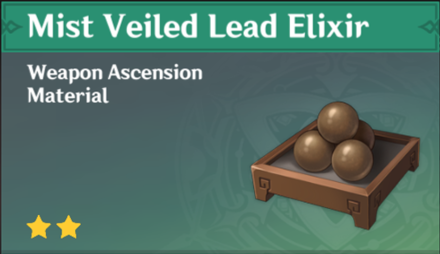 How to Get Mist Veiled Lead Elixir and Effects