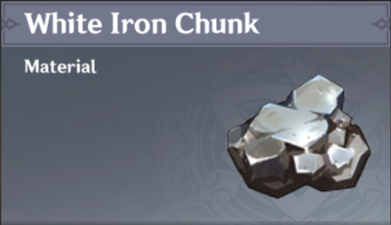 How to Get White Iron Chunk and Effects