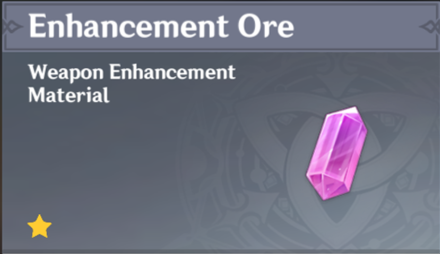 How to Get Enhancement Ore and Effects