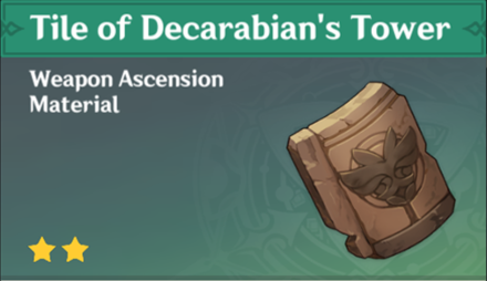 How to Get Tile of Decarabian