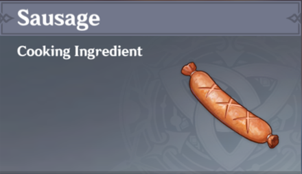 How to Get Sausage and Effects
