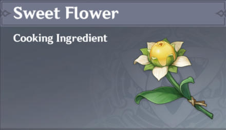 How to Get Sweet Flower and Effects