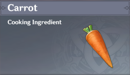 How to Get Carrot and Effects