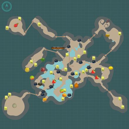 Garden of Hope Map