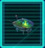 Iridescent Flint Beetle Icon