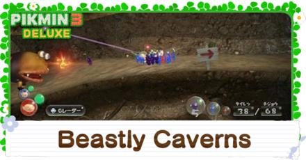 Beastly Caverns Platinum Medal Walkthrough
